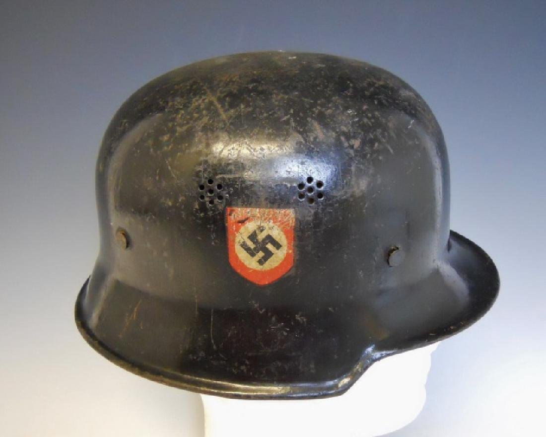 WW2 German Police Double Decal Civic Helmet