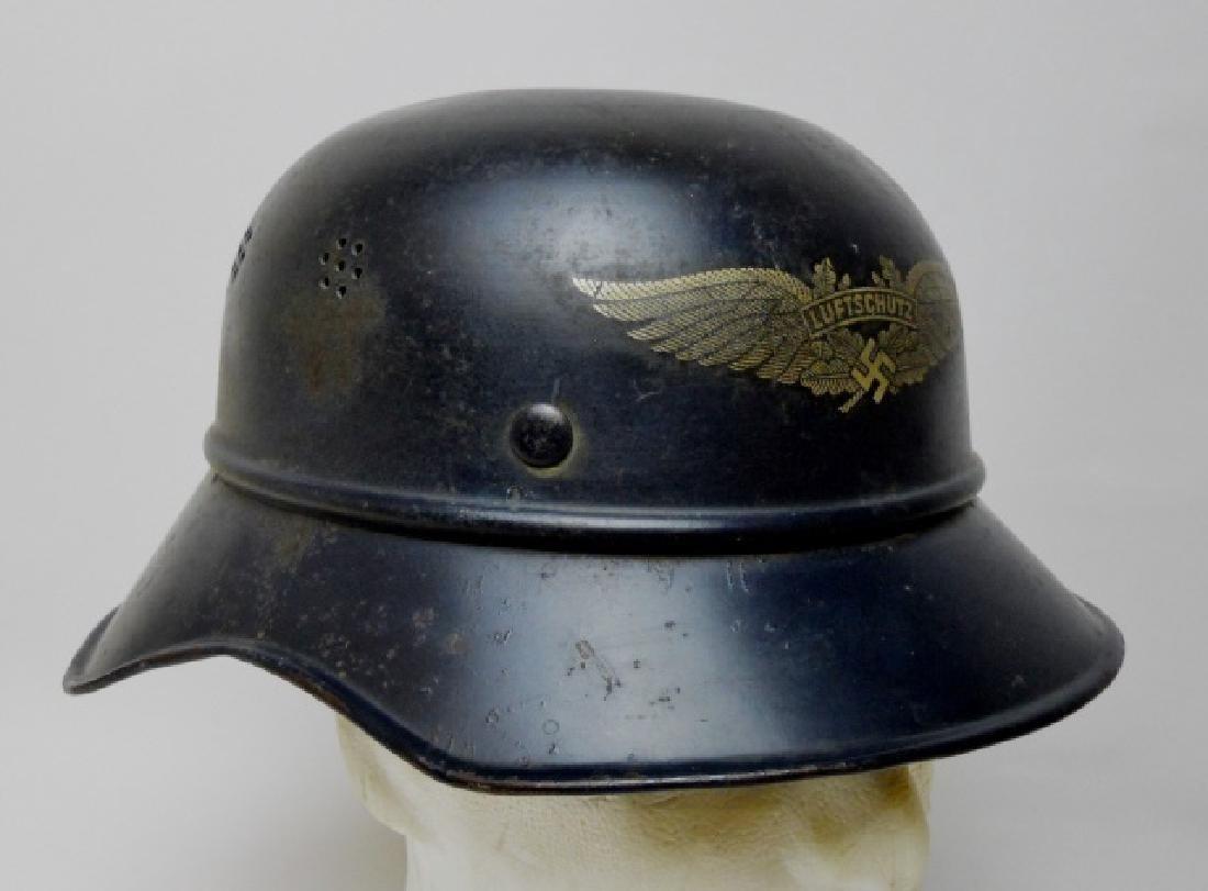 WW2 German Luftschutz Helmet - 2