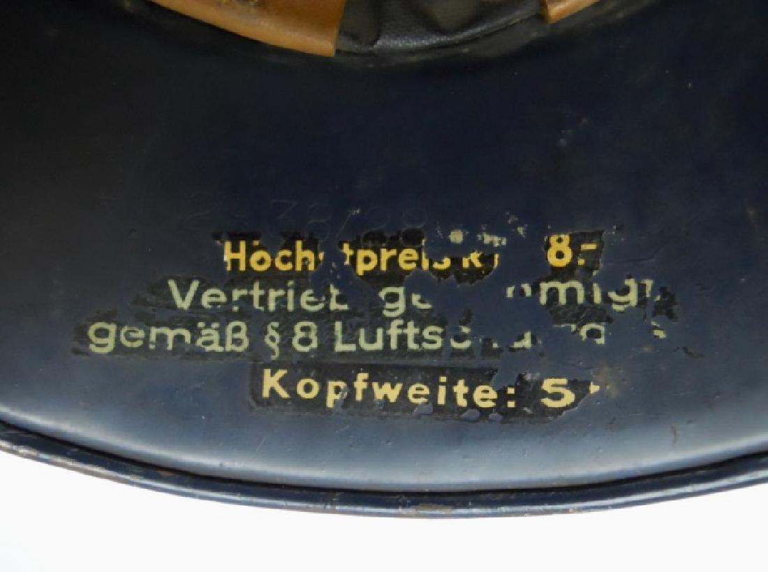 WW2 German Luftschutz Helmet - 5