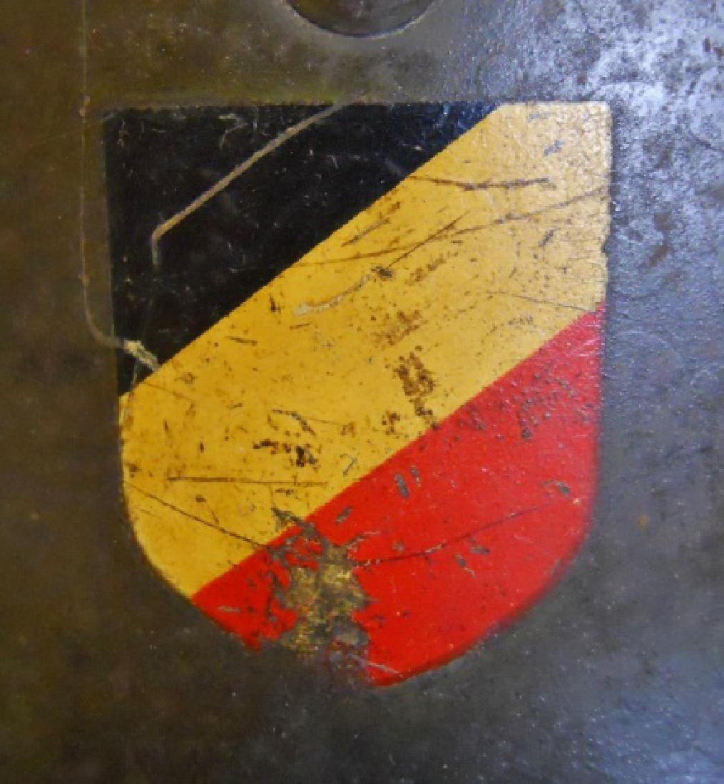 WW2 German M1935 Heer Double Decal Combat Helmet - 4