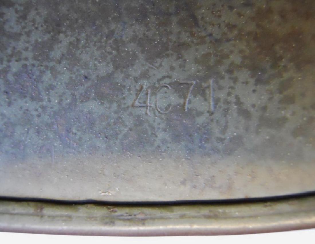 WW2 German M1935 Heer Double Decal Combat Helmet - 8