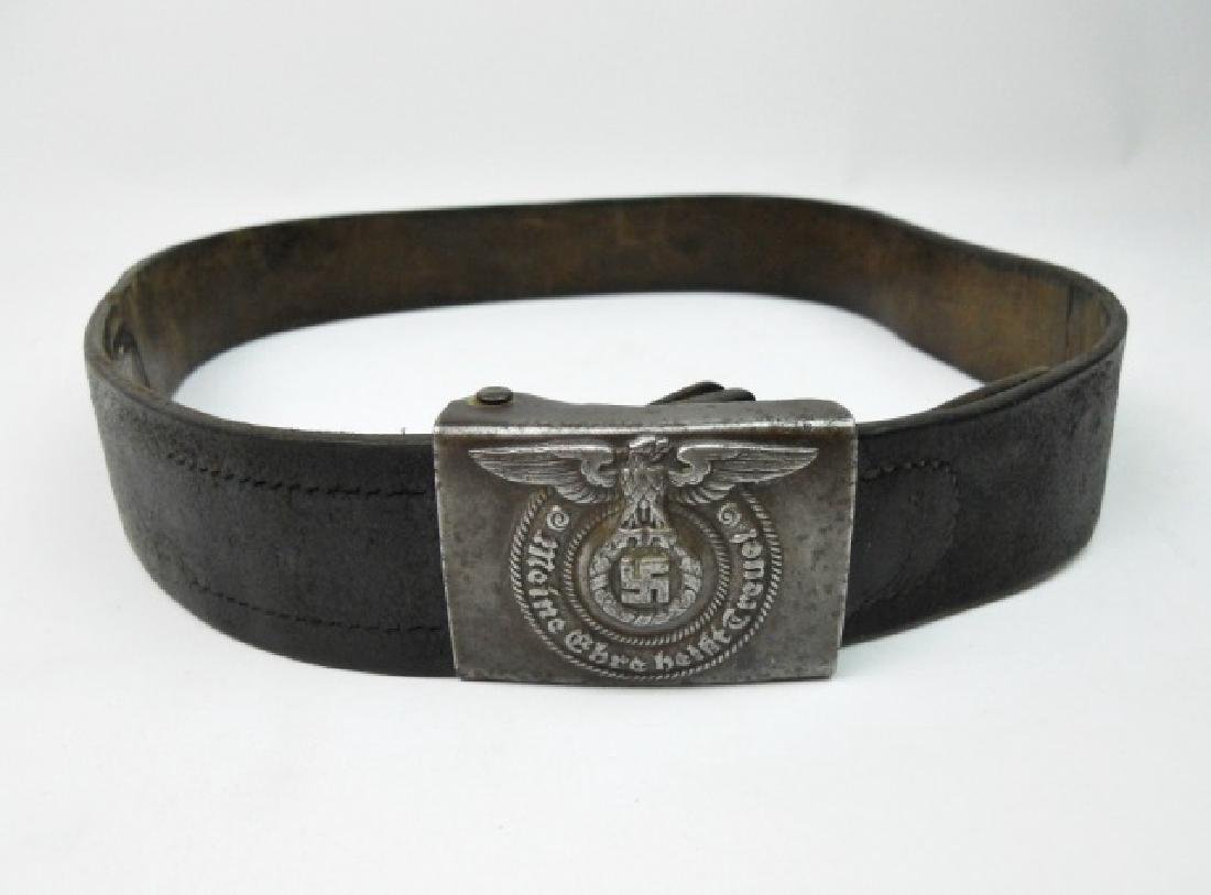 WW2 German SS Combat Belt and Buckle