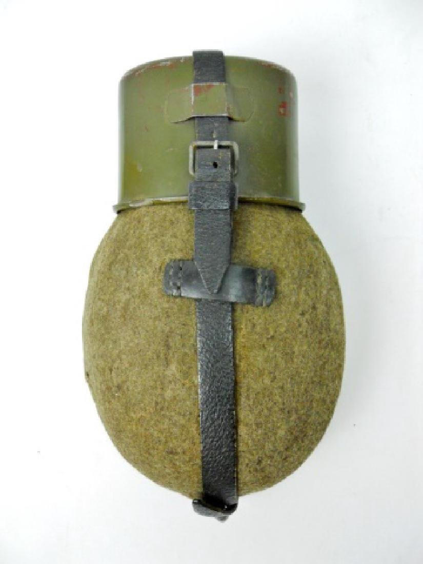 Collection of WW2 German Field Gear, (3pc) - 4