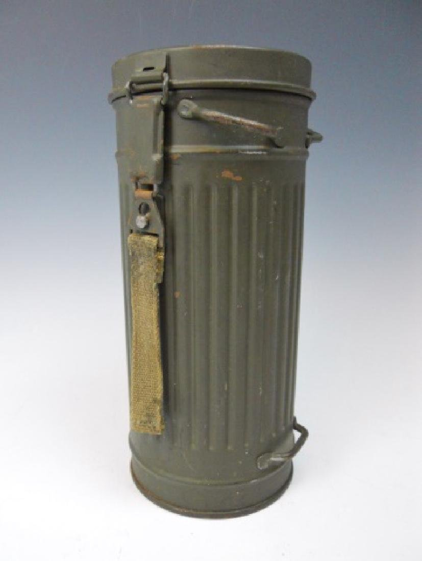WW2 German M1938 Gas Mask and Canister, 1944
