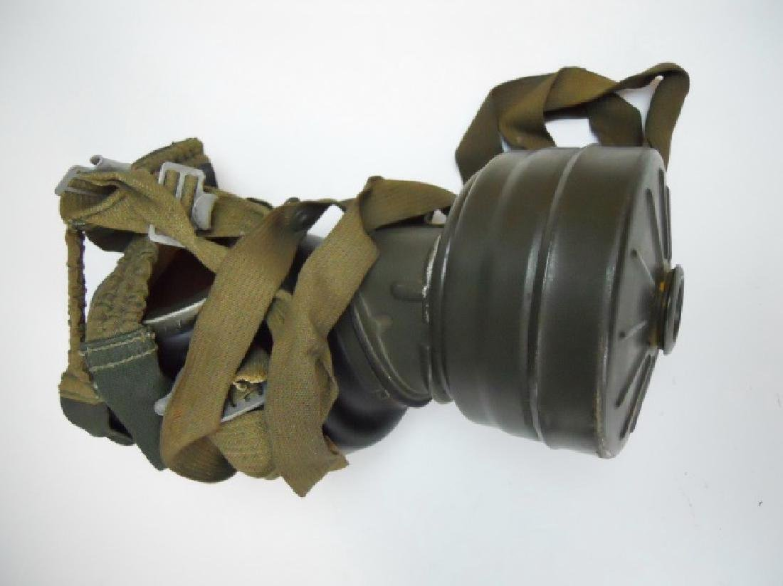 WW2 German M1938 Gas Mask and Canister, 1944 - 2