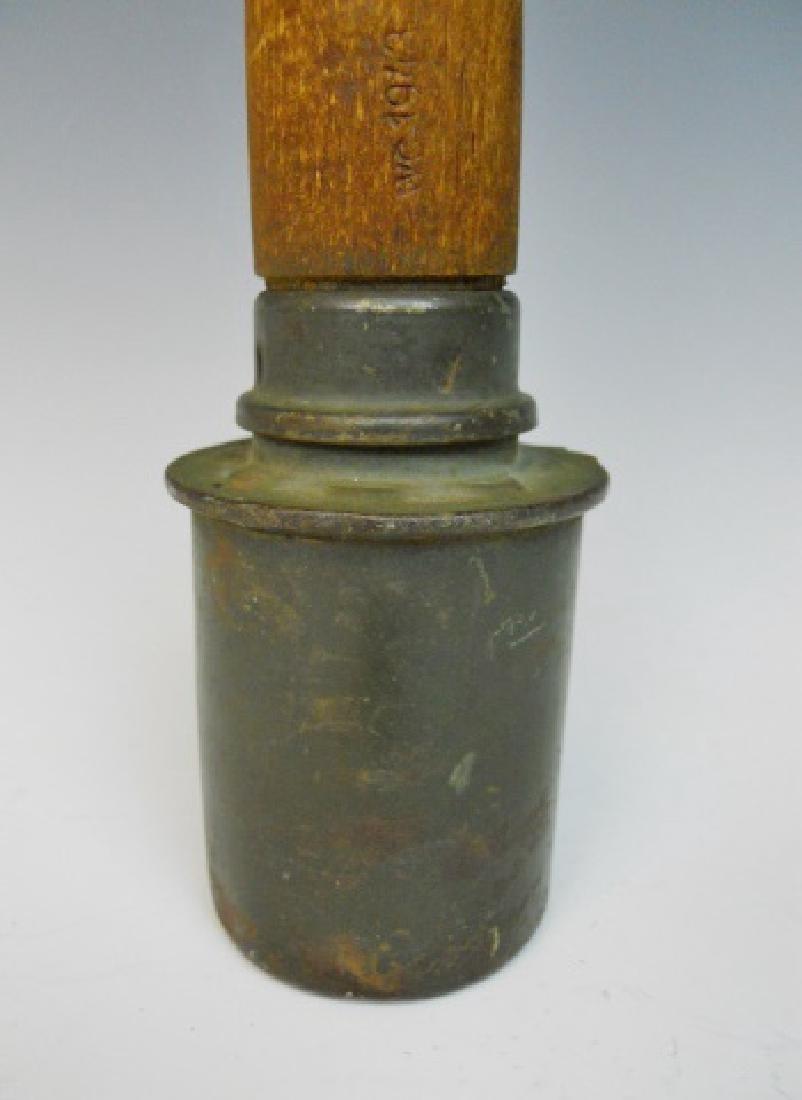 WW2 German M1924 Stick Grenade, 43 gck, INERT - 2