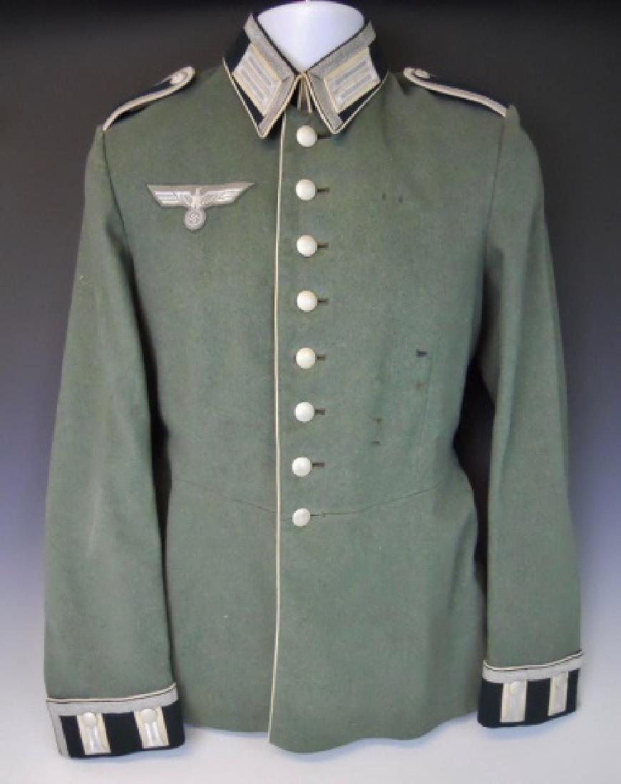 WW2 German Heer Infantry NCO Parade Tunic, Named