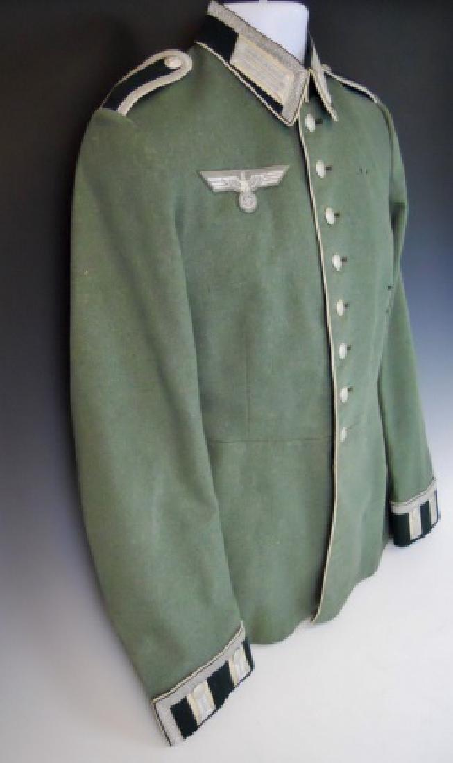 WW2 German Heer Infantry NCO Parade Tunic, Named - 3