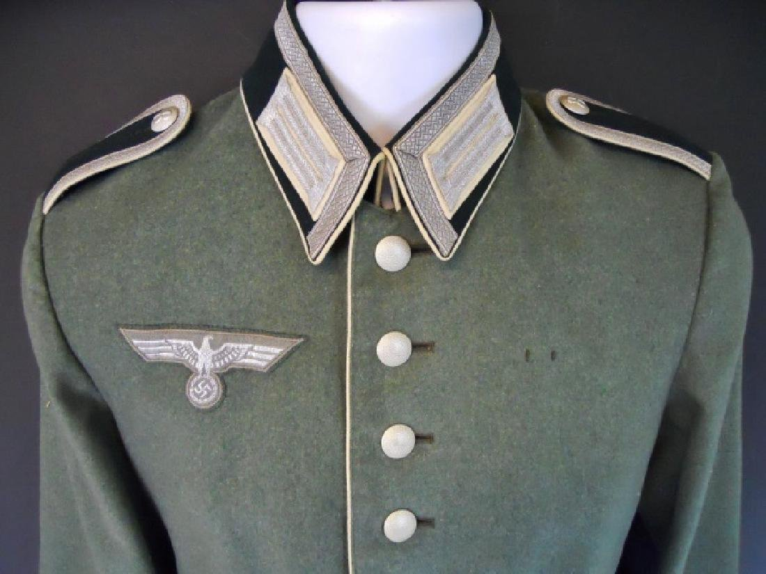 WW2 German Heer Infantry NCO Parade Tunic, Named - 5
