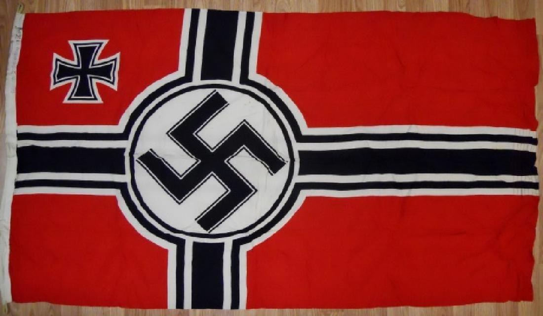 WW2 German Kriegsmarine Battle Flag, 100 x 170