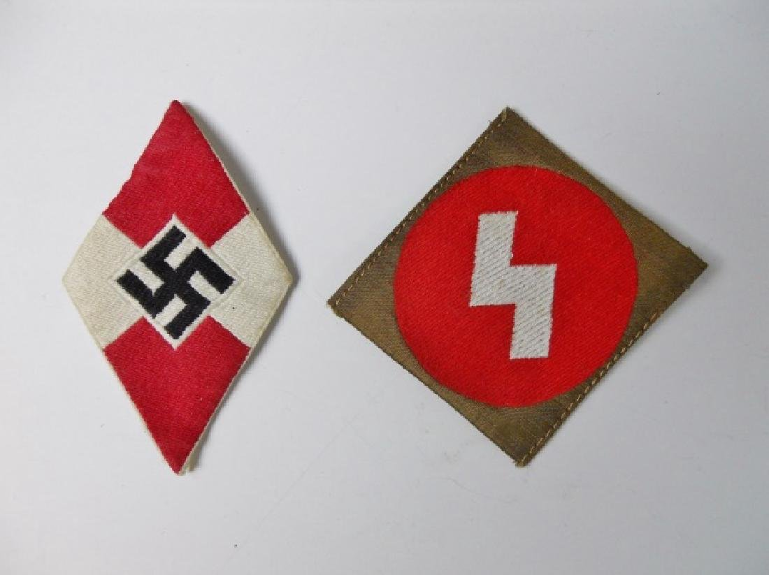Collection, WW2 German Hitler Jugend Items, (5pc) - 10