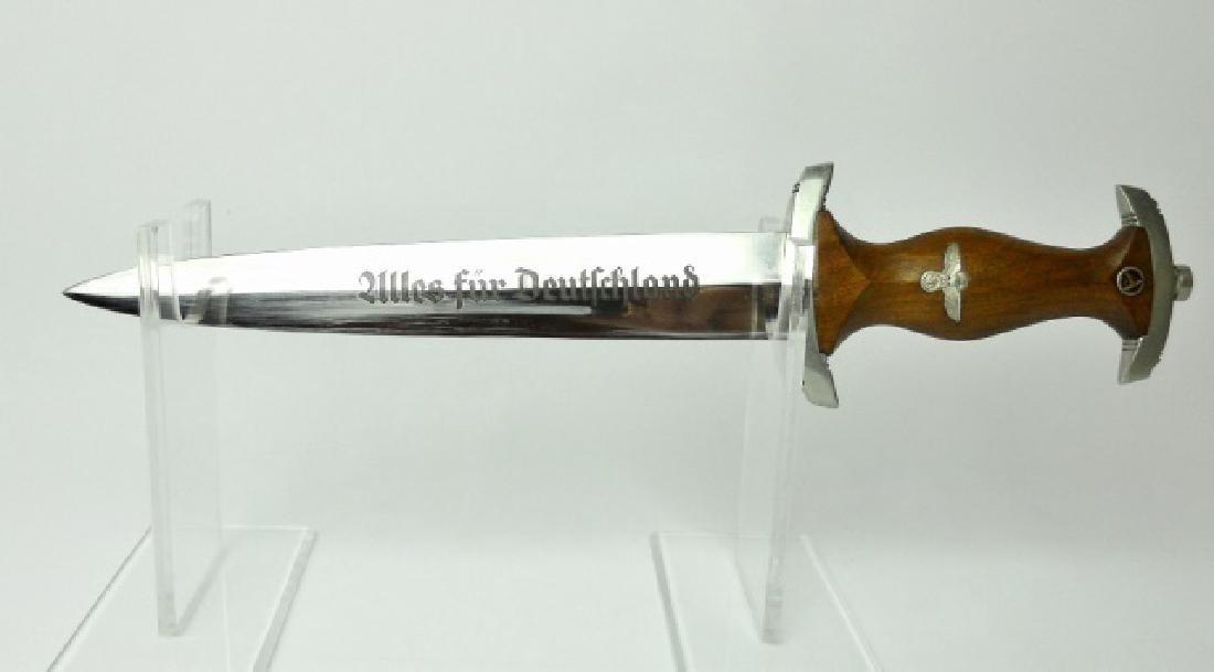 WW2 German M1933 SA Dagger, J. R. SAUER & SOHN - 2