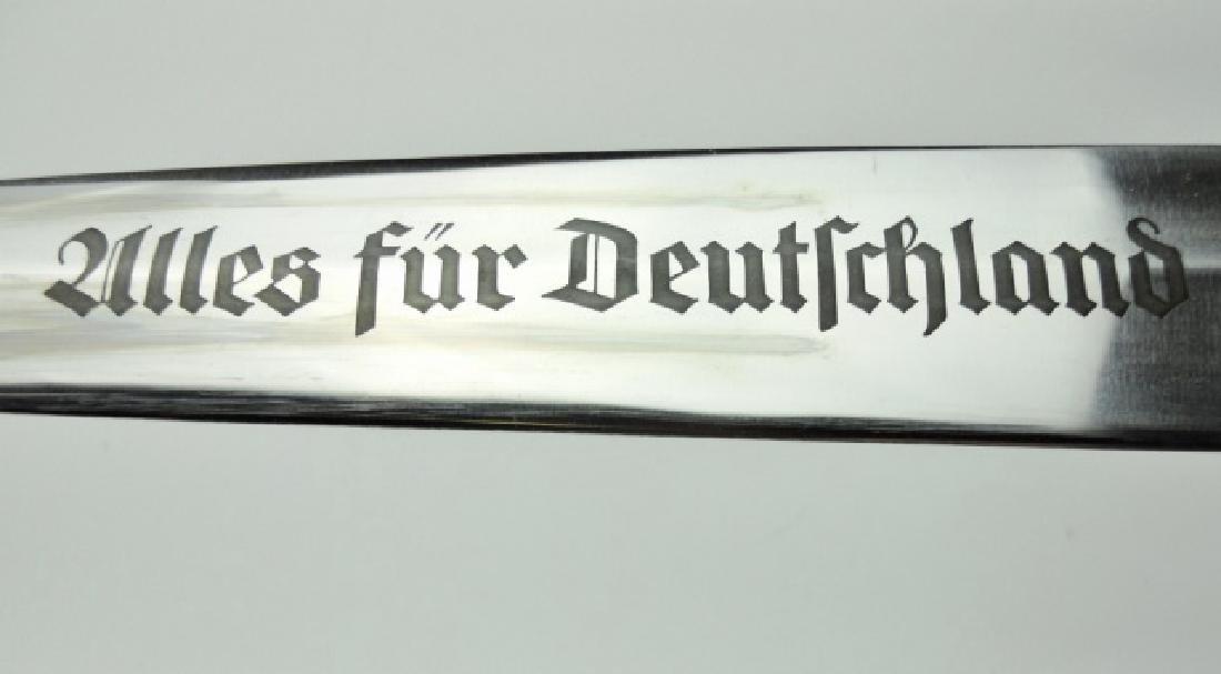 WW2 German M1933 SA Dagger, J. R. SAUER & SOHN - 4