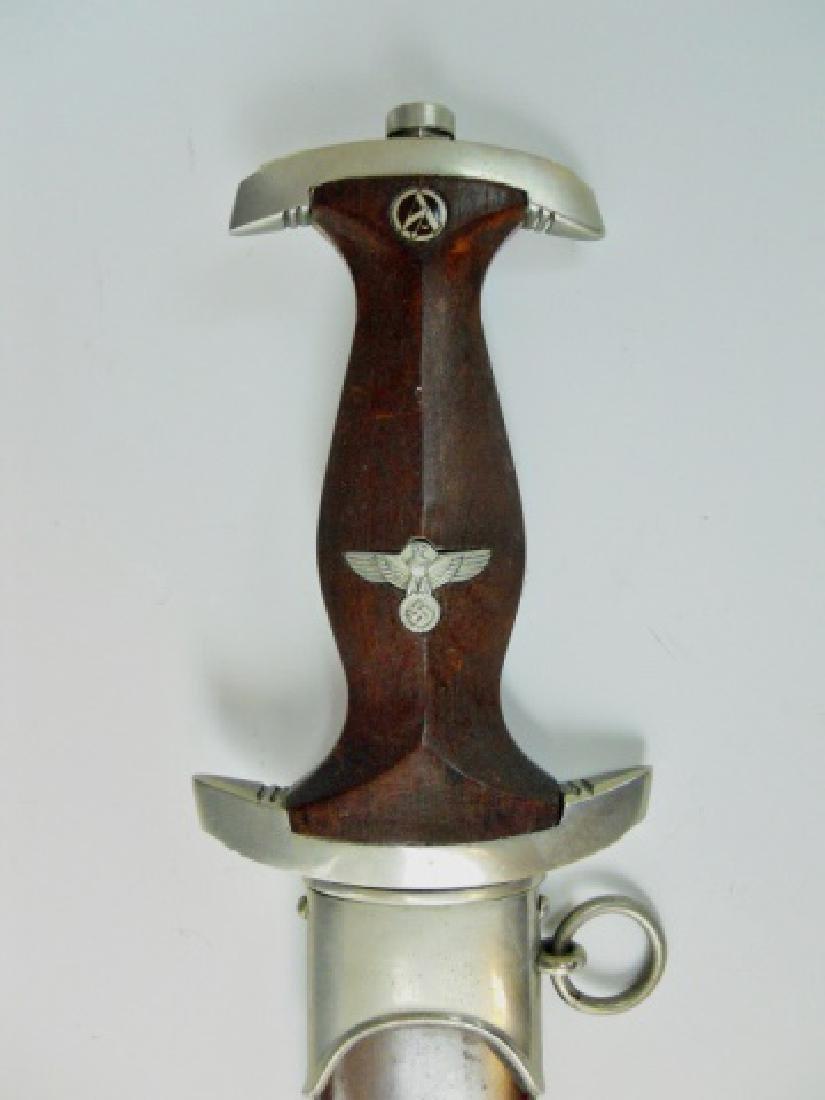 WW2 German M1933 SA Dress Dagger, Gebruder Heller - 4
