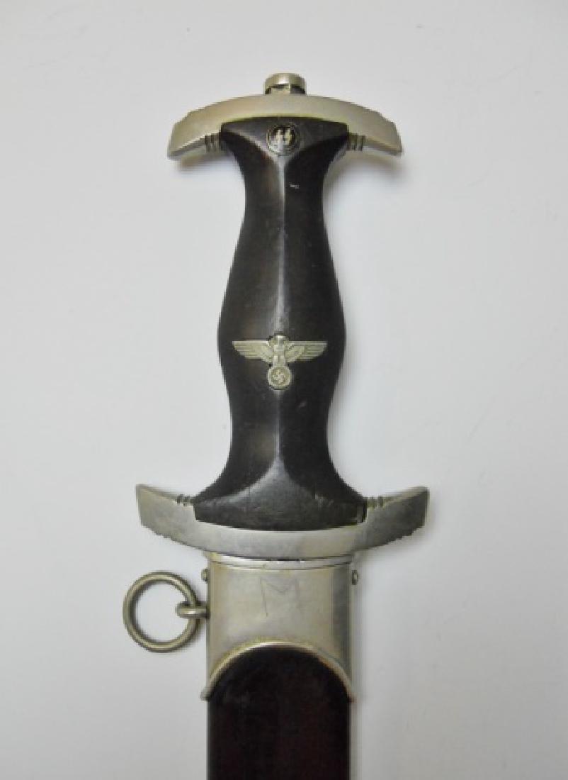 WW2 German M1933 SS EM/NCO Dagger, BERTRAM REINH - 5