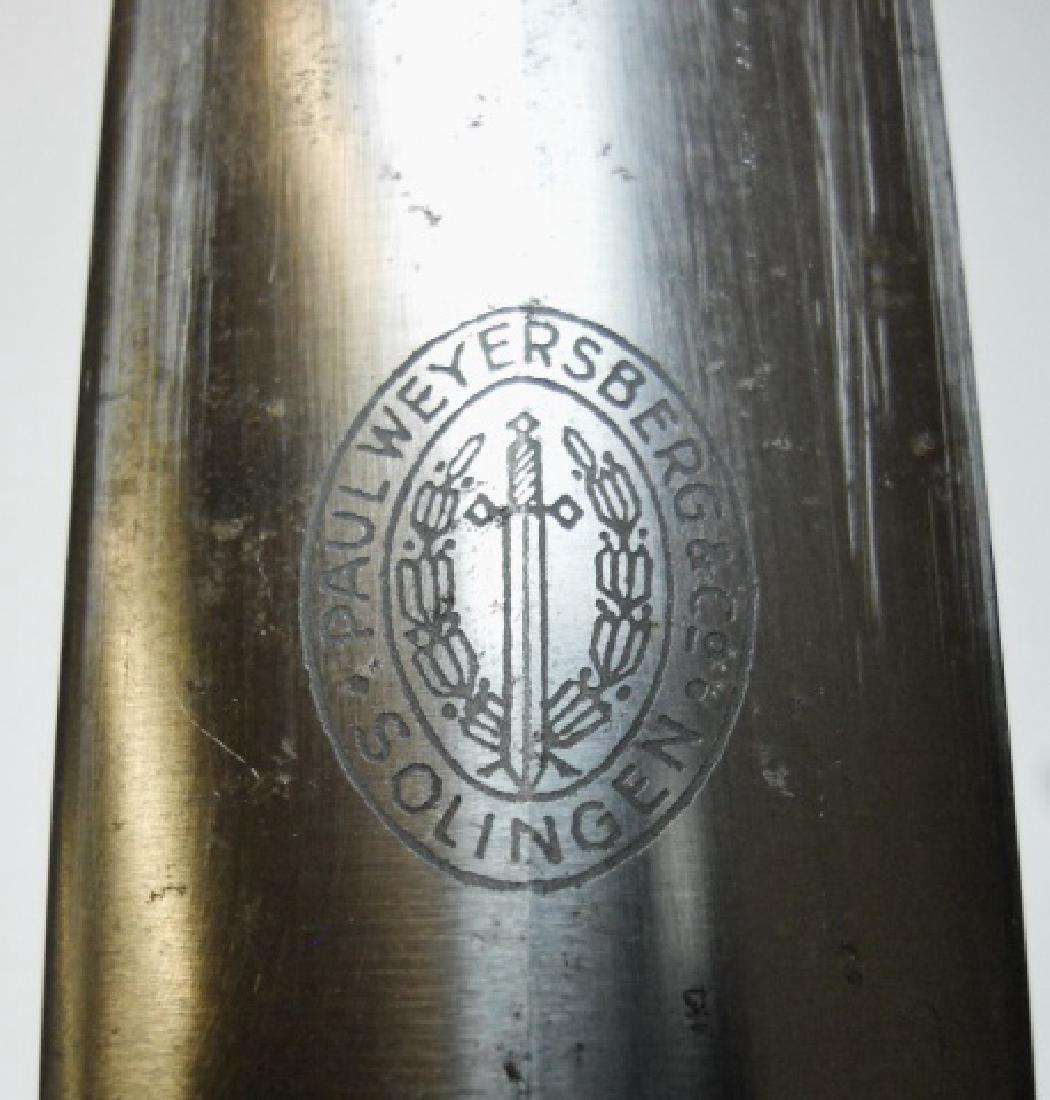 WW2 German RLB EM/NCO Dagger, Paul Weyersberg - 4