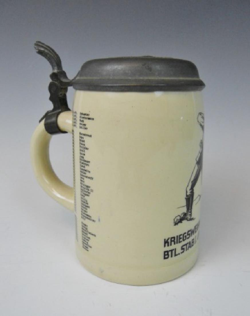 WW2 German Heer Regimental Christmas Stein, 1940 - 2