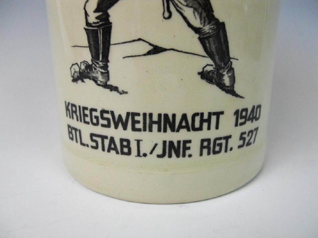 WW2 German Heer Regimental Christmas Stein, 1940 - 6