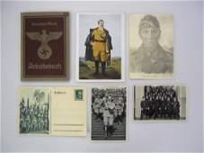 Collection of WW2 German Ephemera, (7pc)