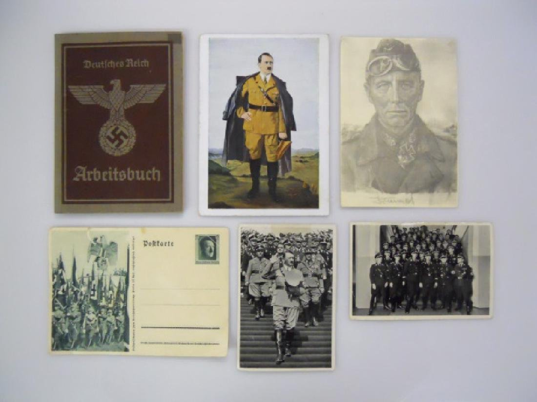 Collection of WW2 German Ephemera, (7pc)