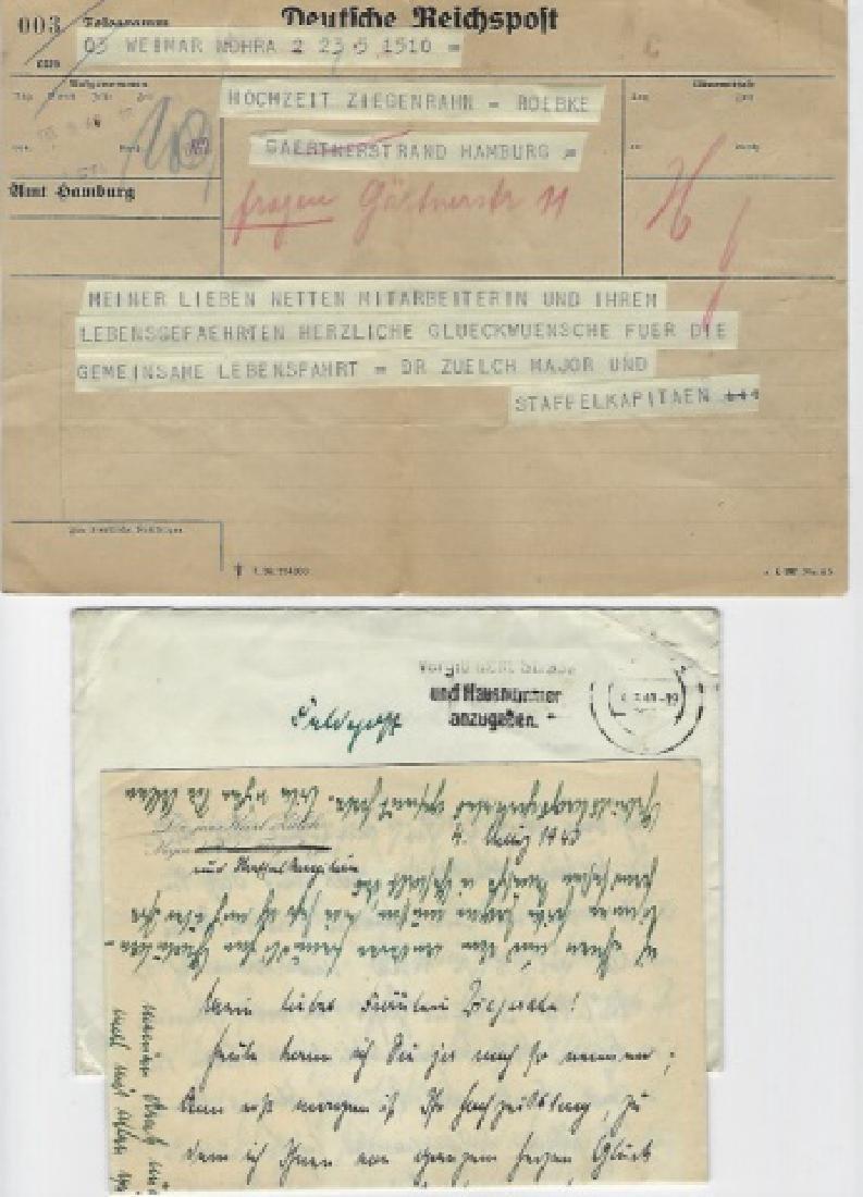 WWII German Ephemera & Photographs, Dr. Karl Zulch - 6