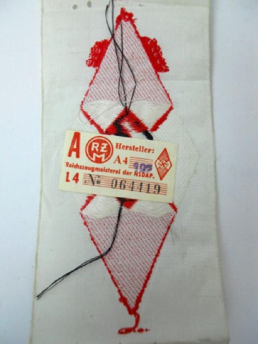 WW2 German HJ Insignia Uncut Ribbons, (8pc) - 4