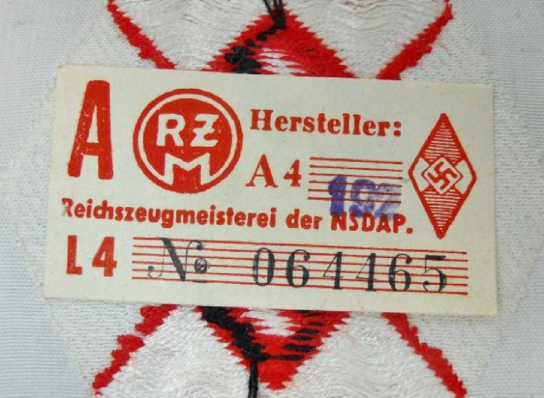 WW2 German HJ Insignia Uncut Ribbons, (8pc) - 5