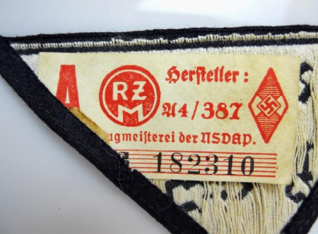 WW2 German HJ Insignia Uncut Ribbons, (8pc) - 8