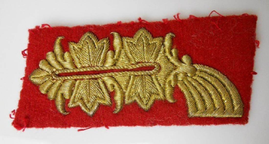 WW2 German General Officer Bullion Insignia, (5pc) - 5