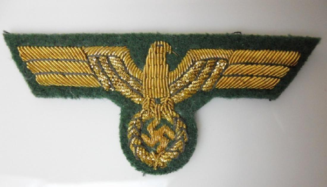 WW2 German General Officer Bullion Insignia, (5pc) - 7