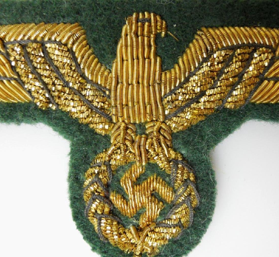 WW2 German General Officer Bullion Insignia, (5pc) - 9