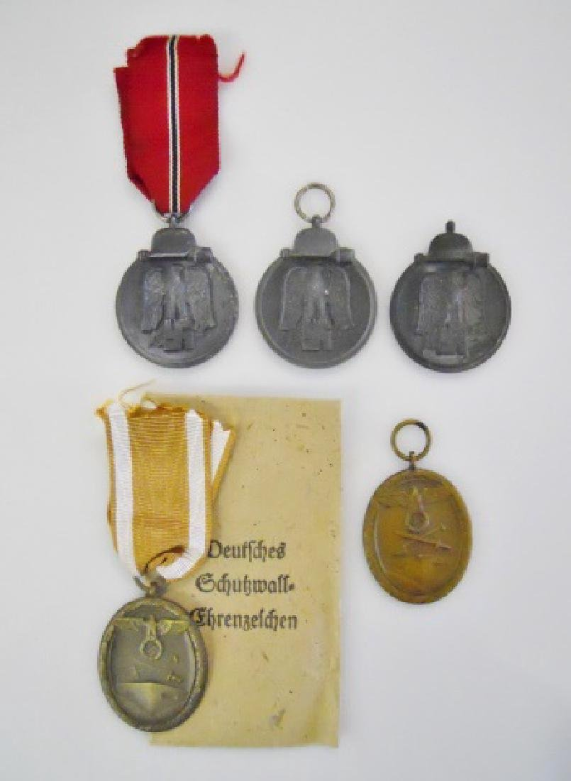 Collection of WW2 German Campaign Medals, (5pc)