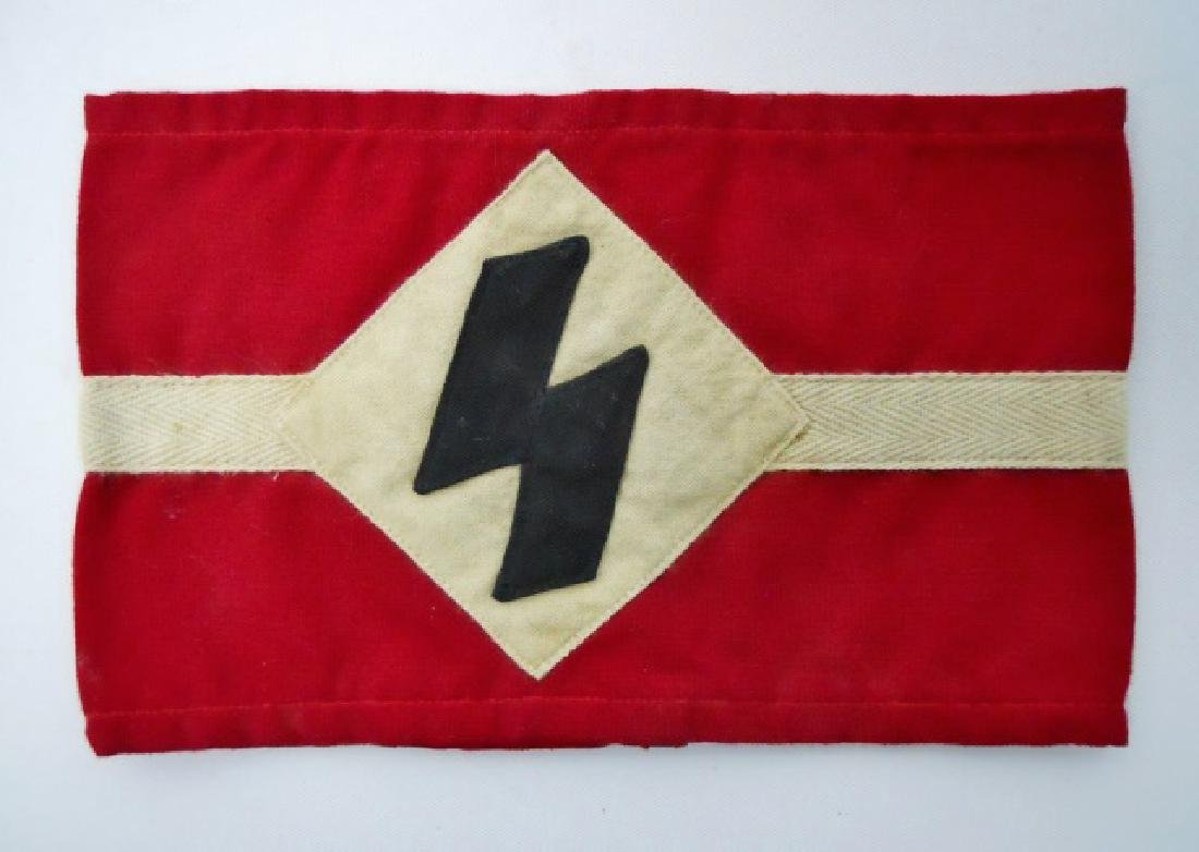 Collection of WW2 German Armbands, HJ, DJ, Heer - 2
