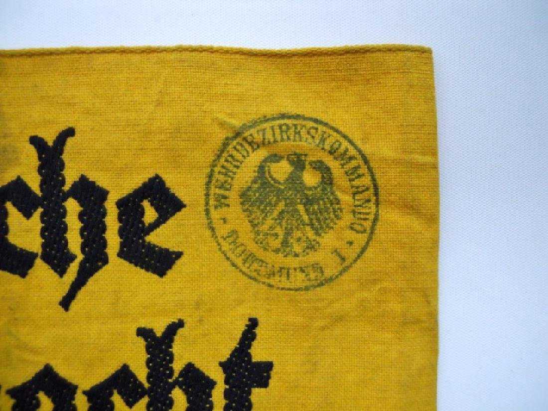 Collection of WW2 German Armbands, HJ, DJ, Heer - 6