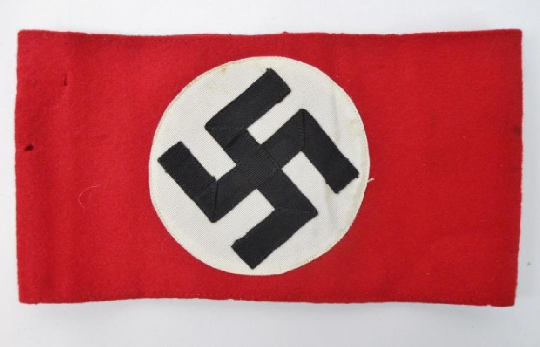 Collection of WW2 German Armbands, (6pc) - 2