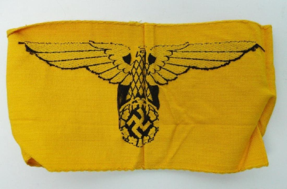Collection of WW2 German Armbands, (3pc) - 3