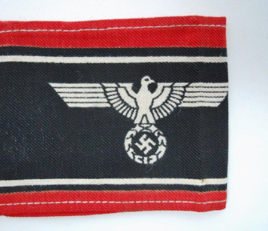 Collection of WW2 German Armbands, (3pc) - 4