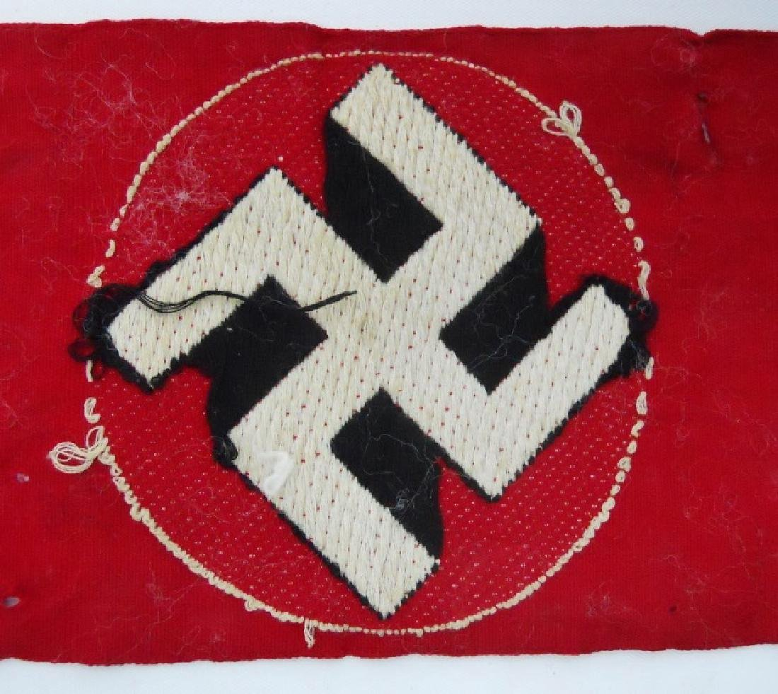 Collection of WW2 German Armbands, (3pc) - 5