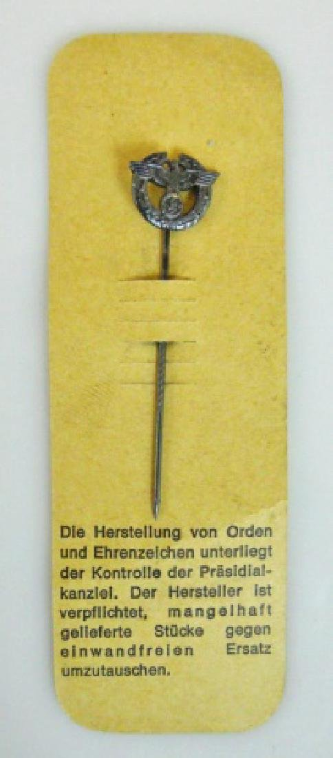 Collection of WW2 German Stick Pins, (12pc) - 6