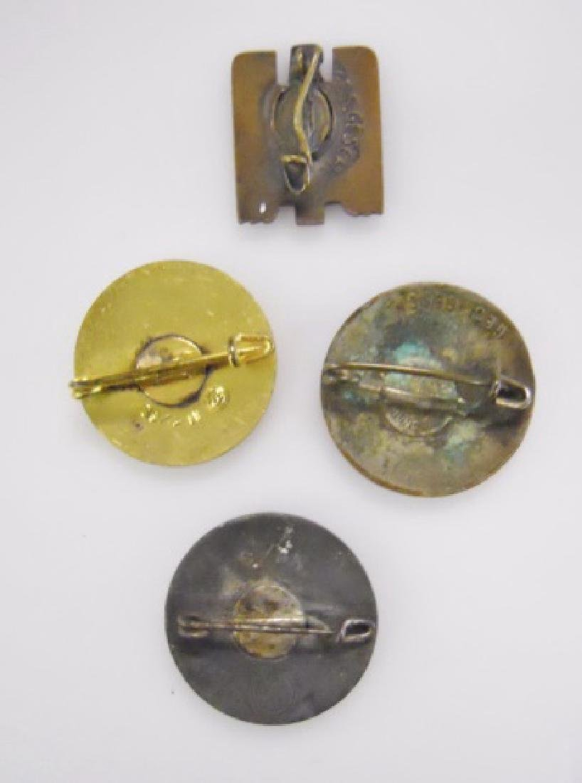 Collection of WW2 German Enamel Pins, (4pc) - 2