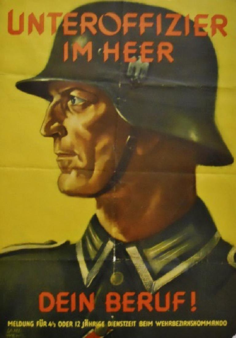 WW2 German Heer Recruiting Poster