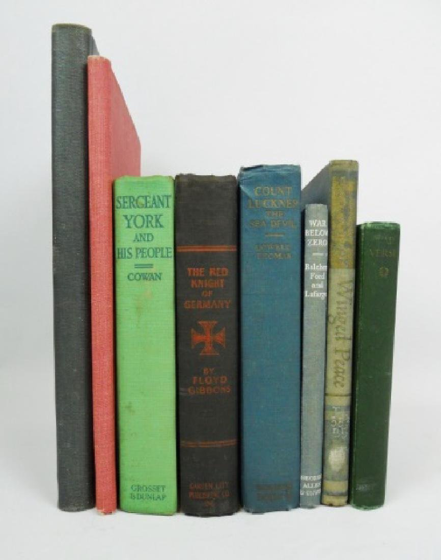 Collection of Military Related Books (8pc)