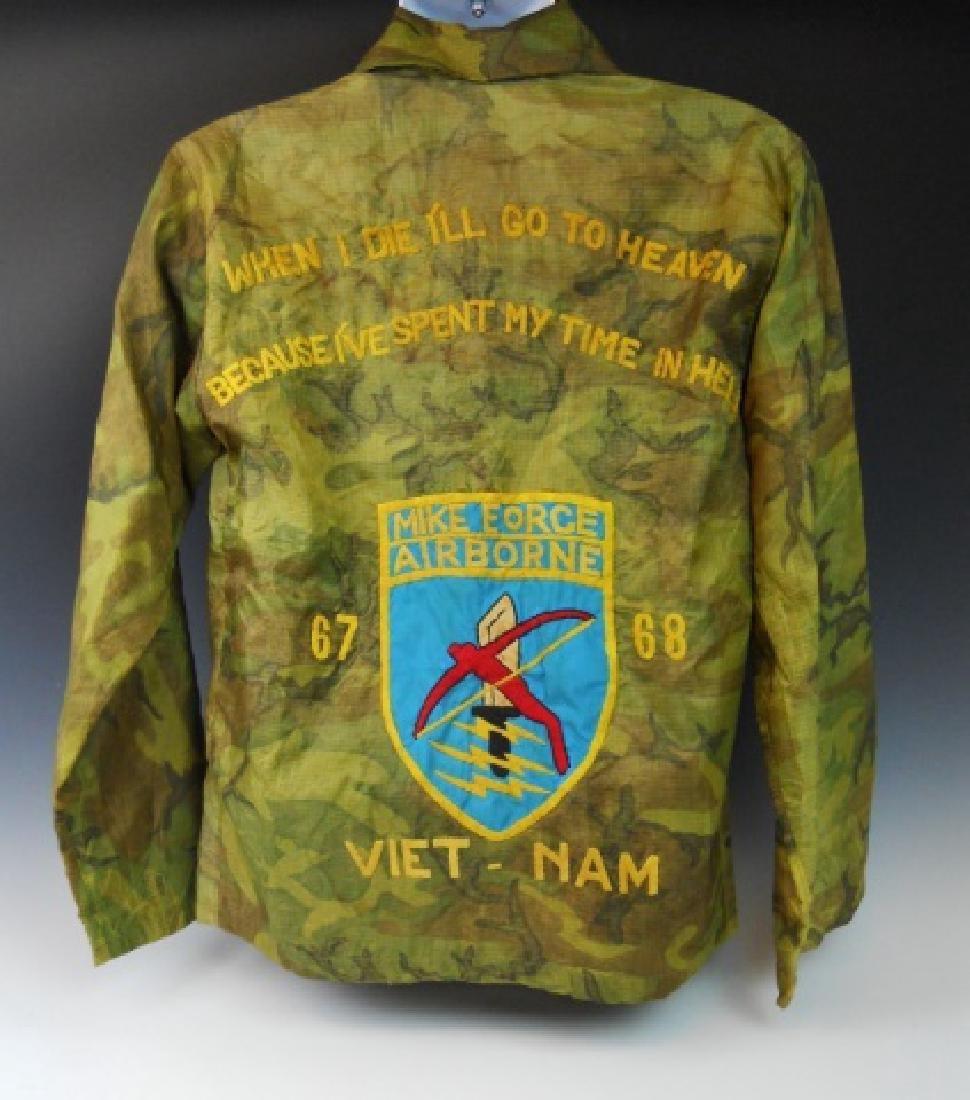 Vietnam Souvenir Tour Jacket, Airborne, Named