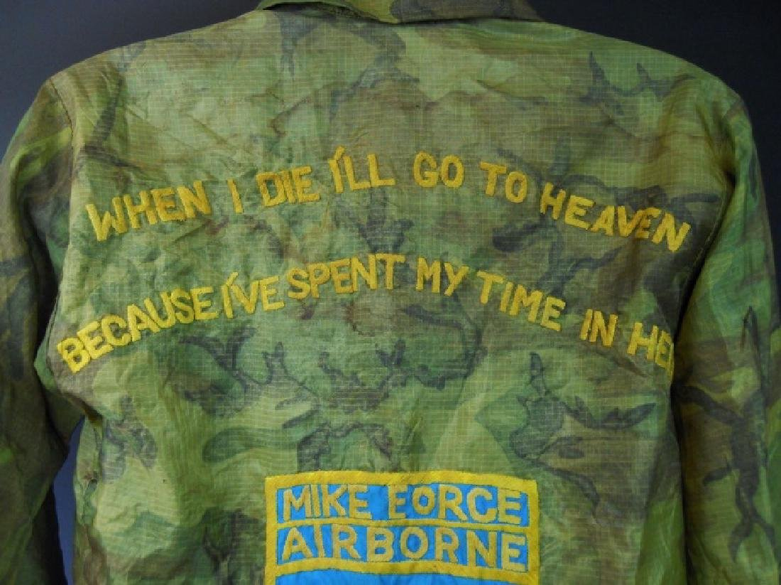 Vietnam Souvenir Tour Jacket, Airborne, Named - 4