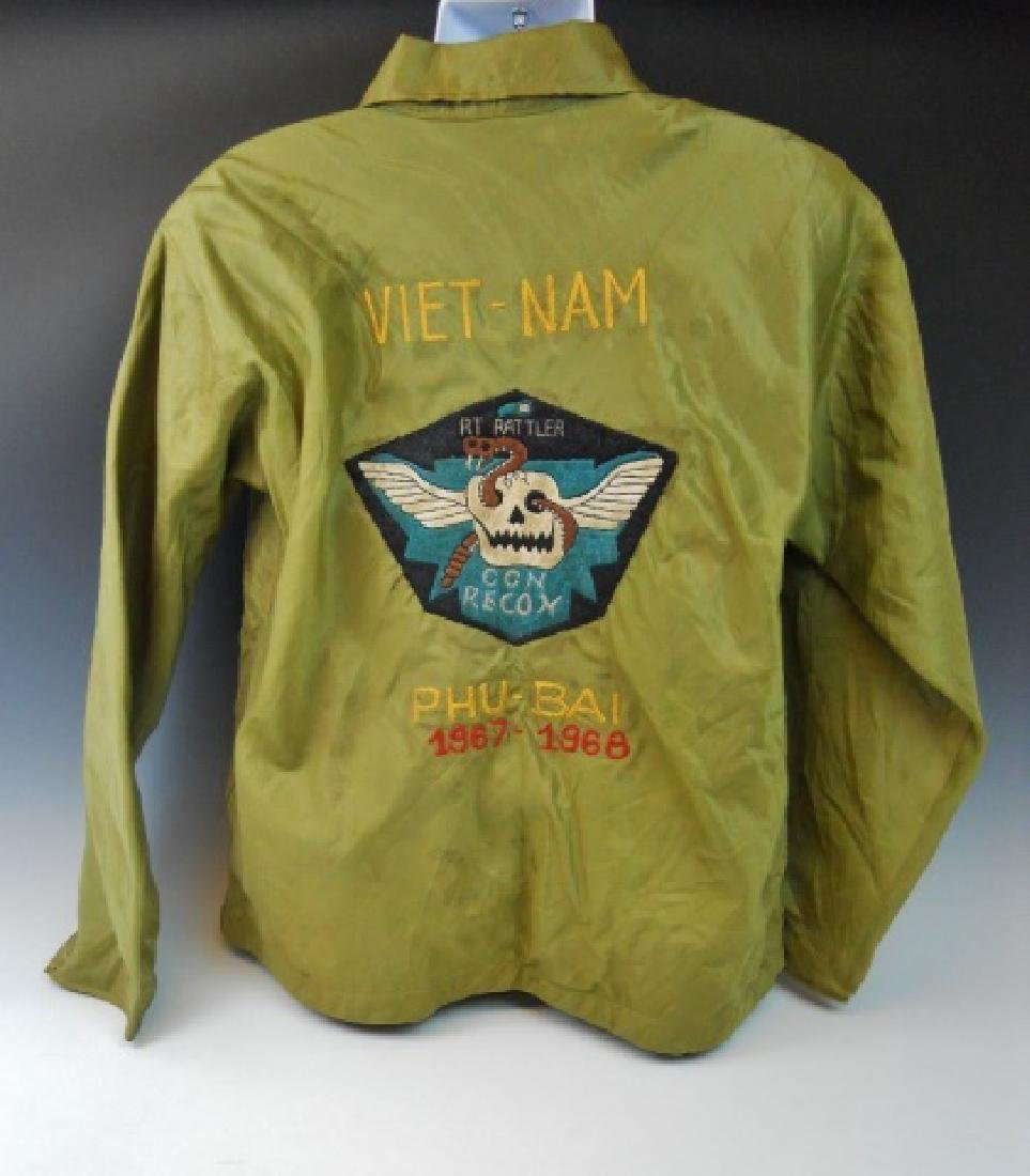 Vietnam Souvenir Tour Jacket, CCN Recon, PHU BAI