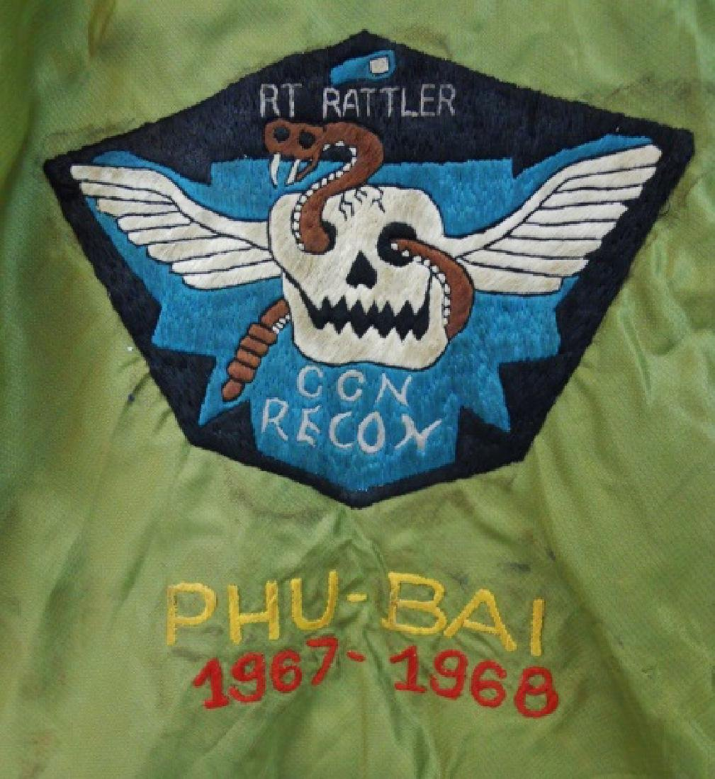 Vietnam Souvenir Tour Jacket, CCN Recon, PHU BAI - 3
