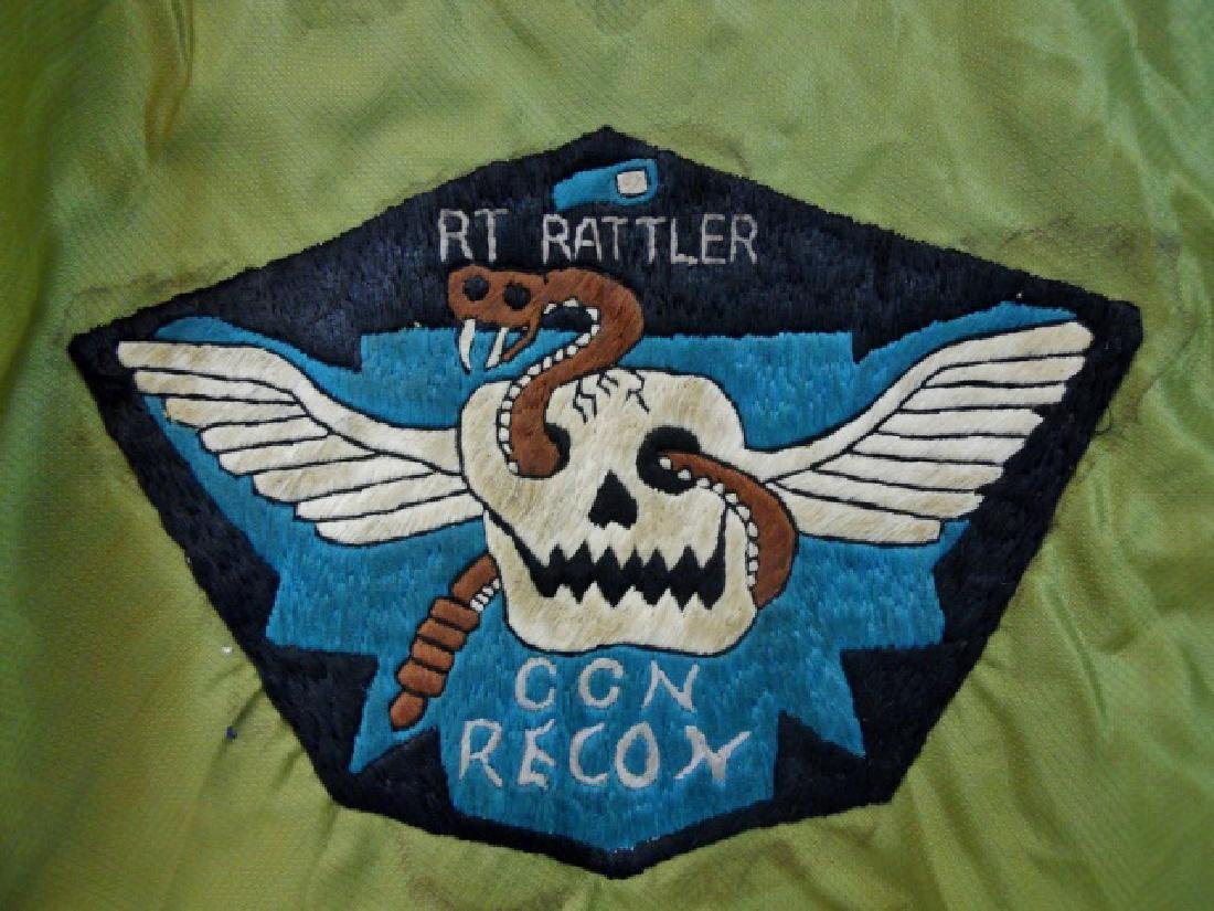 Vietnam Souvenir Tour Jacket, CCN Recon, PHU BAI - 4