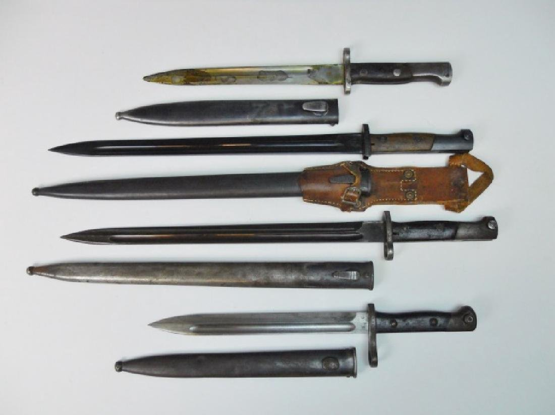 Collection of 20th C. Bayonets, (4pc)