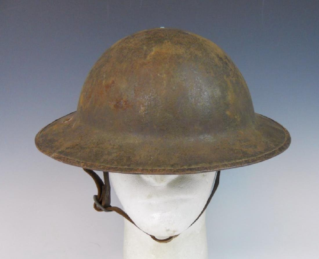 Collection of WW1 US and German Field Gear, (3pc) - 4