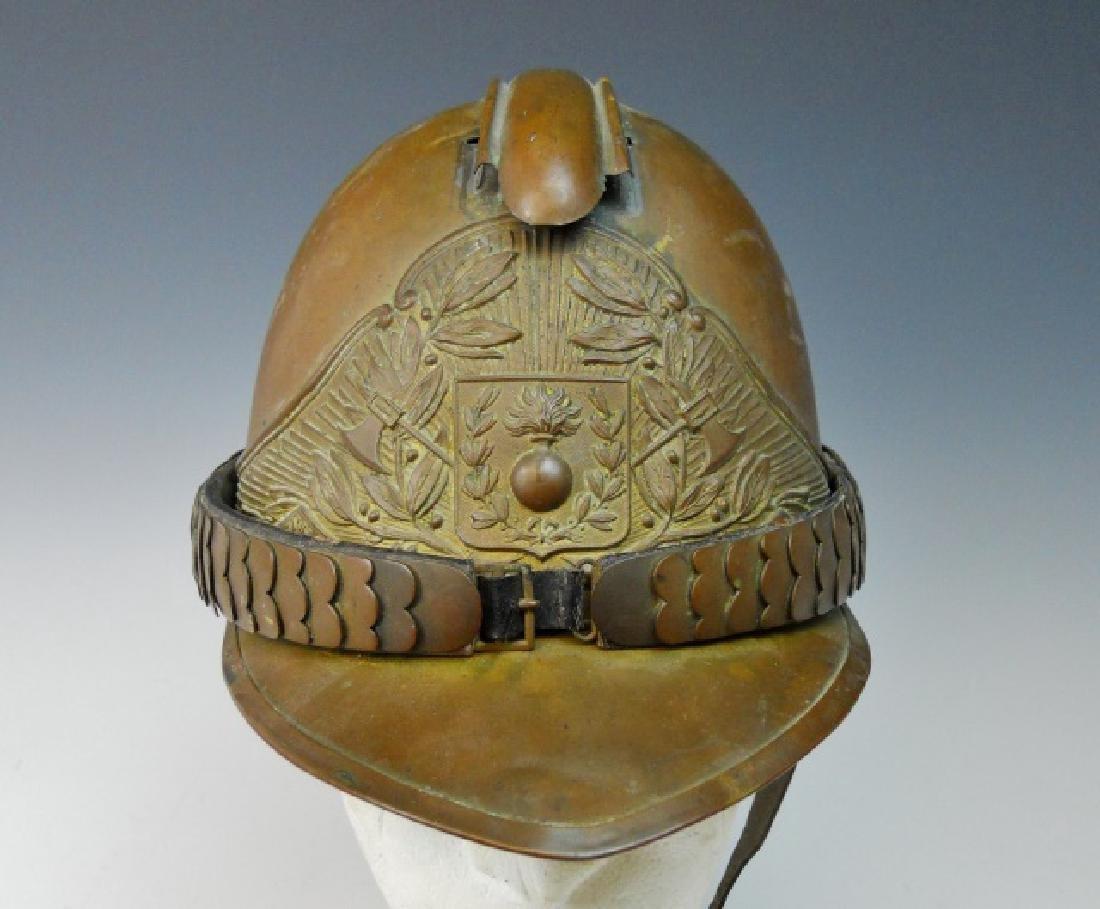 19th C. French Firefighter Helmet